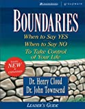 Boundaries Leader's Guide - book cover picture