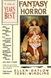 The Year's Best Fantasy and Horror: Third Annual Collection - book cover picture