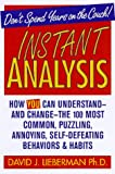 Instant Analysis - book cover picture