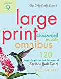 The New York Times Large-Print Crossword Puzzle Omnibus Volume 9