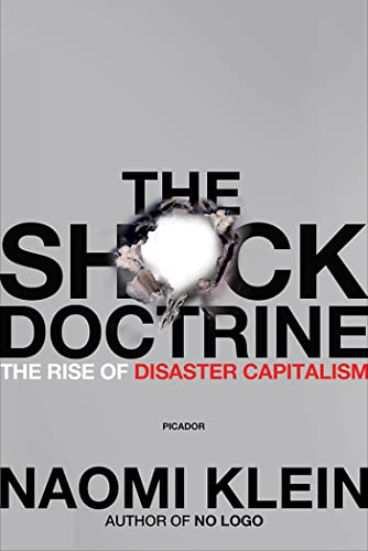 The Shock Doctrine Book Cover Picture