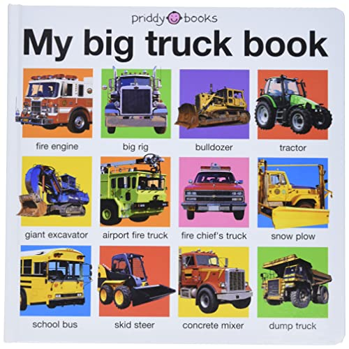 My Big Truck Book (My Big Board Books) - Roger Priddy