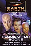 Gene Roddenberry's Earth: Final Conflict : Requiem for Boone (Gene Roddenberry's Earth--Final Conflict) - book cover picture