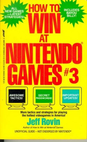 How to Win at Nintendo Games, Rovin, Jeff
