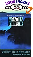And Then There Were None : A Novel by  Agatha Christie (Author) (Mass Market Paperback - June 2001)