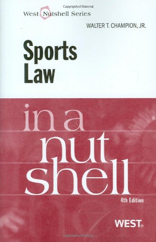 ... major sports law topics such as the NCAA, global amateur sports, women's ...