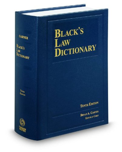 Black's Law Dictionary, 10th Edition - Bryan A. GarnerBryan A. Garner