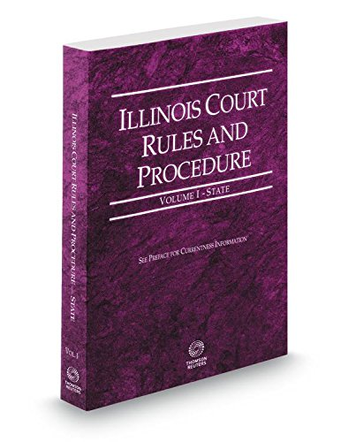 Illinois Court Rules and Civil Procedure Cover Art