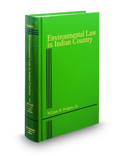 Environmental Law in Indian Country Cover Image