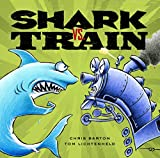 Shark vs Train bookcover with link to our review
