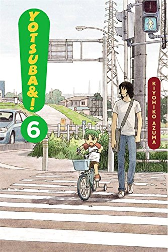 Yotsuba&#038;! Book 6 cover
