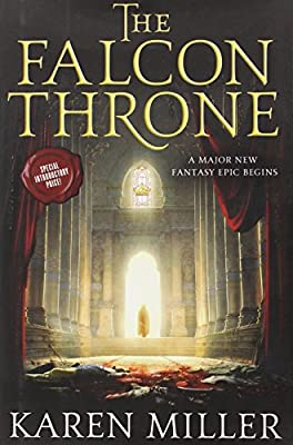 Cover & Synopsis: THE FALCON THRONE by Karen Miller