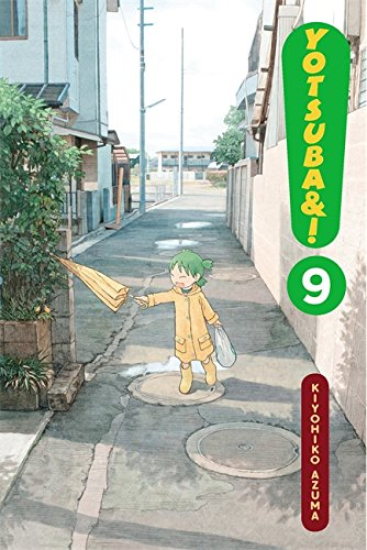 Yotsuba&#038;! Book 9 cover
