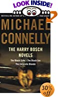 The Harry Bosch Novels: The Black Echo, The Black Ice, The Concrete Blonde by  Michael Connelly (Author)