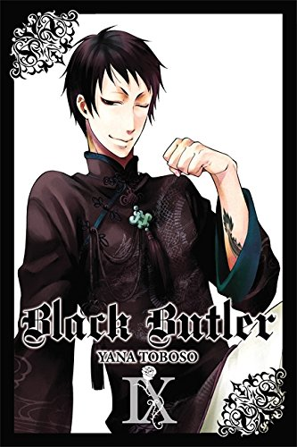 Black Butler Book 9 cover