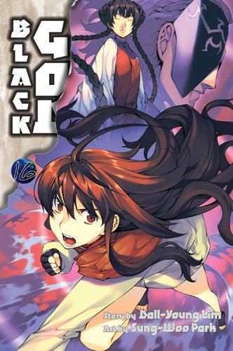 Black God Book 16 cover