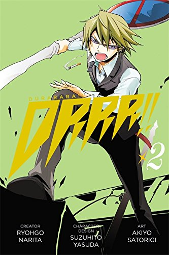 Durarara Book 2 cover