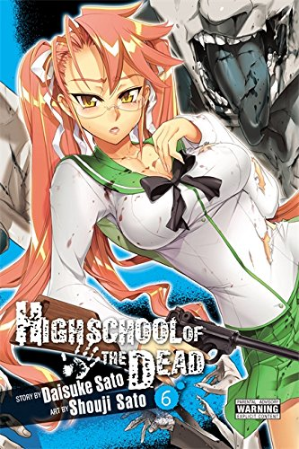 Highschool of the Dead Book 6 cover