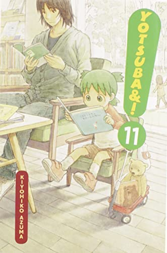 Yotsuba&#038;! Book 11 cover