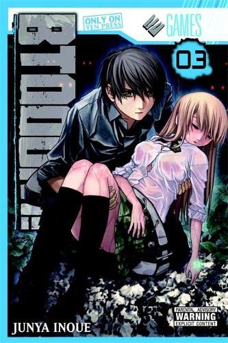 BTOOOM! Book 3 cover