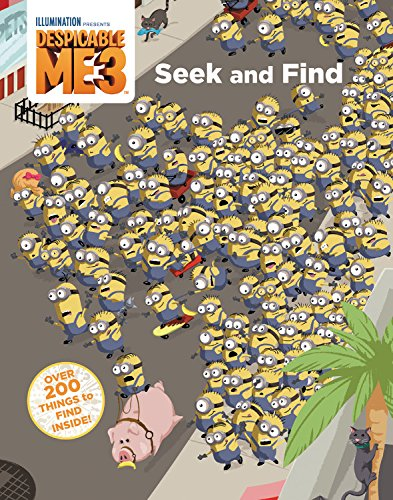 Despicable me 3 : seek and find / written by Trey King ; art by Fractured Pixels.
