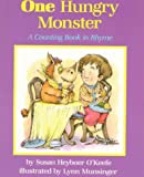 One Hungry Monster: A Counting Book in Rhyme - book cover picture