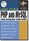 PHP and MySQL for Dynamic Web Sites: Visual QuickPro Guide - book cover picture