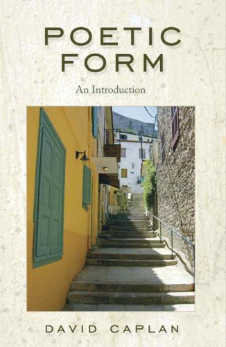 Poetic Form: An Introduction, Caplan, David