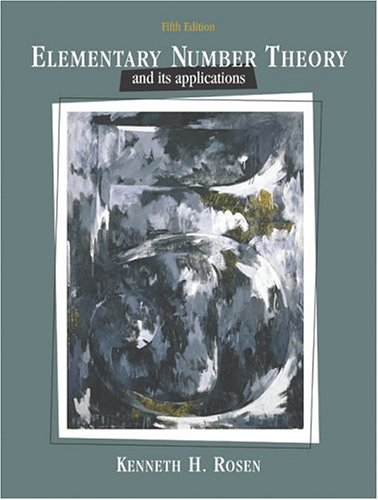 PDF Elementary Number Theory 5th Edition