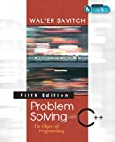 Problem Solving with C++: The Object of Programming, Fifth Edition - book cover picture