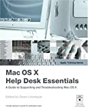 Apple Training Series : Mac OS X Help Desk Essentials (Apple Training) - book cover picture