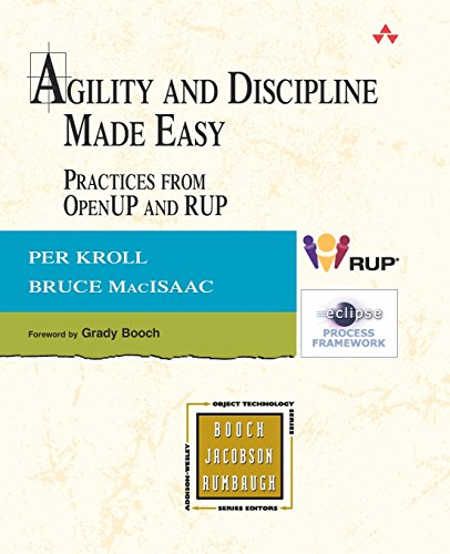 Book Cover: Agility and Discipline Made Easy: Practices from OpenUP and RUP (The Addison-Wes