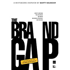 Book Image - The Brand Gap by Marty Neumeier