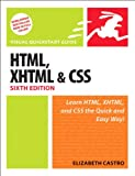 HTML, XHTML, and CSS book cover
