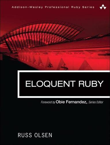 363. Eloquent Ruby (Addison-Wesley Professional Ruby)