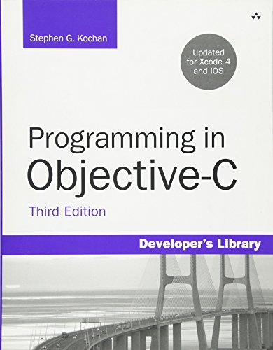 Programming in Objective-C, Third Edition (Developer's Library)