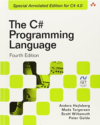 The C# Programming Language (Covering C# 4.0) (4th Edition) (Microsoft Windows Development Series)
