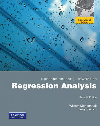 PDF A Second Course in Statistics Regression Analysis 7th Edition