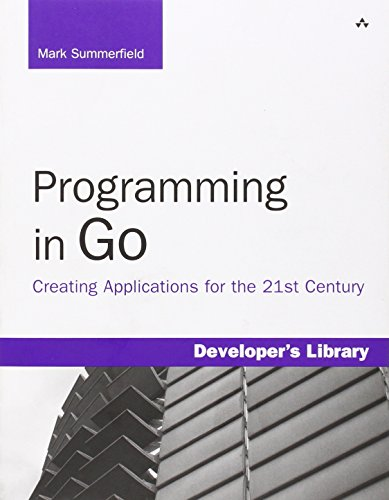 Pdf Programming In Go Creating Applications For The 21st Century