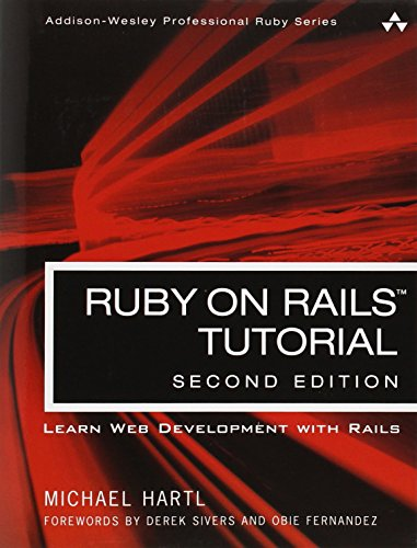 PDF Ruby on Rails Tutorial Learn Web Development with Rails 2nd Edition Addison Wesley Professional Ruby Series