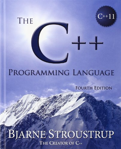 The C++ Programming Language Book Cover Picture