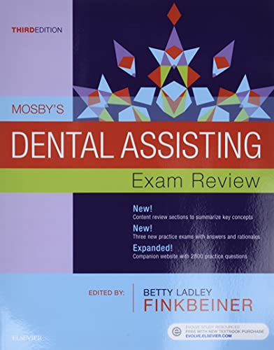 MOSBY'S DENTAL ASSISTING EXAM REVIEW, 3ED