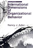Buy International Dimensions of Organizational Behavior from Amazon