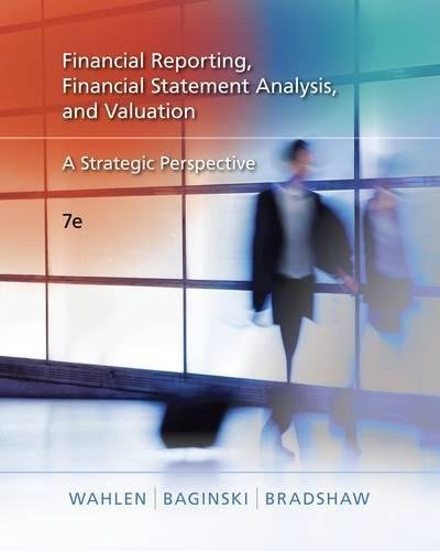 PDF Financial Reporting Financial Statement Analysis and Valuation A Strategic Perspective with Thomson One Printed Access Card