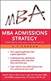 Buy MBA Admissions Strategy from Amazon