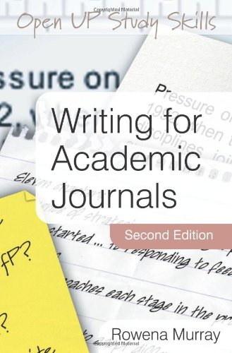 writing for academic journals In my previous article, i had explained that it is an acceptable practice to rewrite  content from a phd thesis or dissertation and publish it as a.
