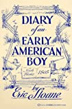 Diary of an Early American Boy - book cover picture