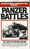 Panzer Battles : A Study of the Employment of Armor in the Second World War - book cover picture
