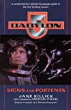 Babylon 5 book cover: Signs & Portents