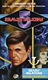 Babylon 5 book cover: Deadly Relations